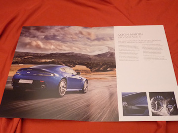 2011 aston martin v8 vantage s prospekt brochure english version. Black Bedroom Furniture Sets. Home Design Ideas