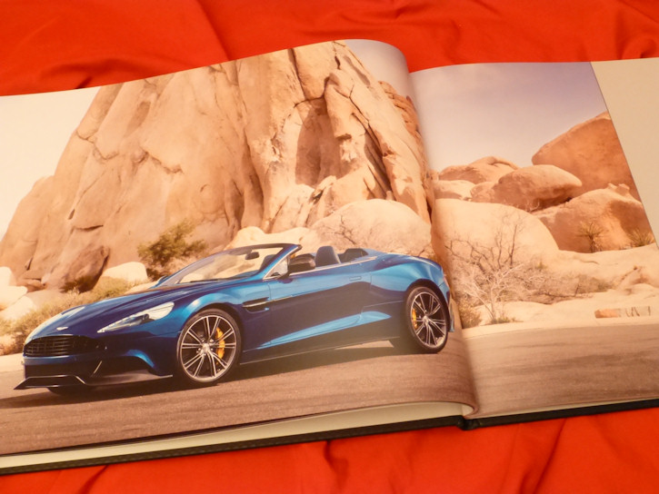 2014 aston martin vanquish volante hardcover vip prospekt brochure 2013. Black Bedroom Furniture Sets. Home Design Ideas