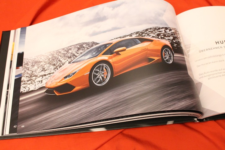 2016 lamborghini huracan rwd coupe spyder prospekt brochure ebay. Black Bedroom Furniture Sets. Home Design Ideas