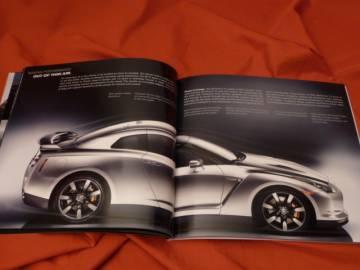 2009 nissan gt r gtr r35 prospekt brochure skyline 2008. Black Bedroom Furniture Sets. Home Design Ideas