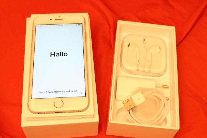 apple iphone 6 16gb silber ohne simlock a1586 neuer. Black Bedroom Furniture Sets. Home Design Ideas